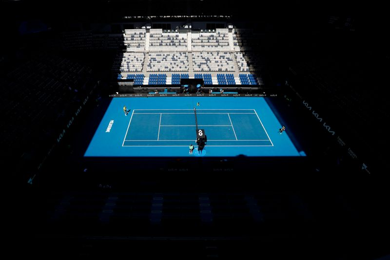 Players switch back to COVID-mode as fans exit Australian Open
