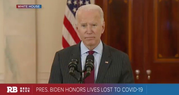 Biden Caught In Another Big Lie – Claims More Deaths from COVID than WWI, WWII and Vietnam Wars Combined