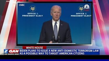 Biden plans to issue a new anti-domestic terrorism law as a possible way to target American citizens