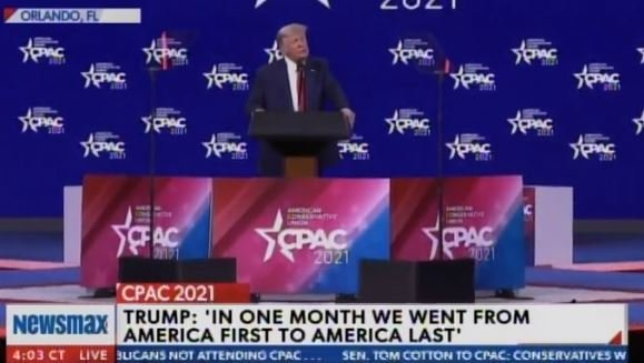 """Actually They Just Lost the White House!… I May Just Decide to Beat Them for a 3rd Time"" — TRUMP WARNS DEMOCRATS at CPAC (VIDEO)"