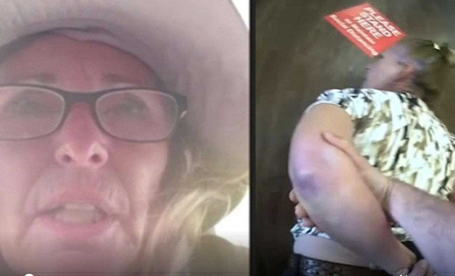 WATCH: 65-Year-Old Woman Violently Arrested in Texas Bank of America for Not Wearing Mask, Despite Mandate Being Lifted