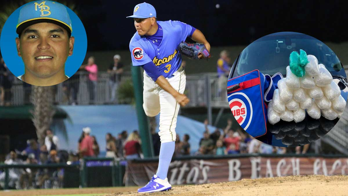 Cubs Pitcher From Mexico Arrested With 21 Pounds OfMeth…