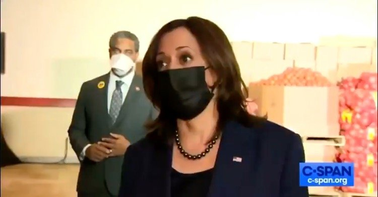 "Kamala Harris Awkwardly Cackles After Reporter Confronts Her on ""Help is Here"" Tour: If the Covid Bill is So Popular, Why is It Important to Go Out and Sell It? (VIDEO)"