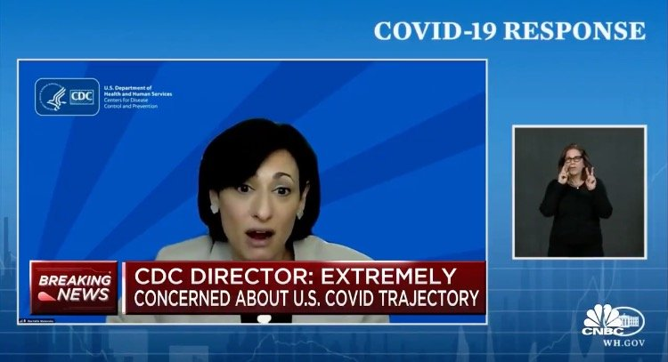 "Biden's CDC Director Declares Racism a ""Serious Public Health Threat"""