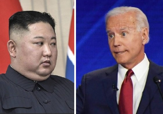 Biden Laughs When Reporter Asks About Pyongyang's Saber-Rattling After North Korea Launches Two Missiles in Challenge to Biden Admin (VIDEO)