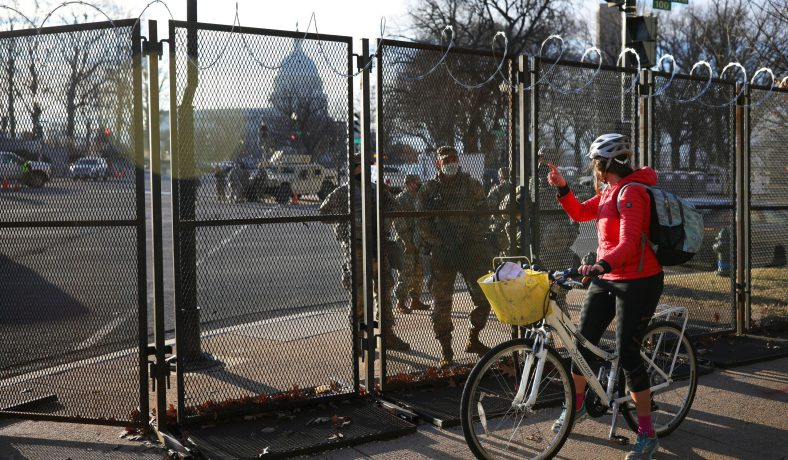 Bring Down the Capitol Hill Fencing | Federal Inquirer