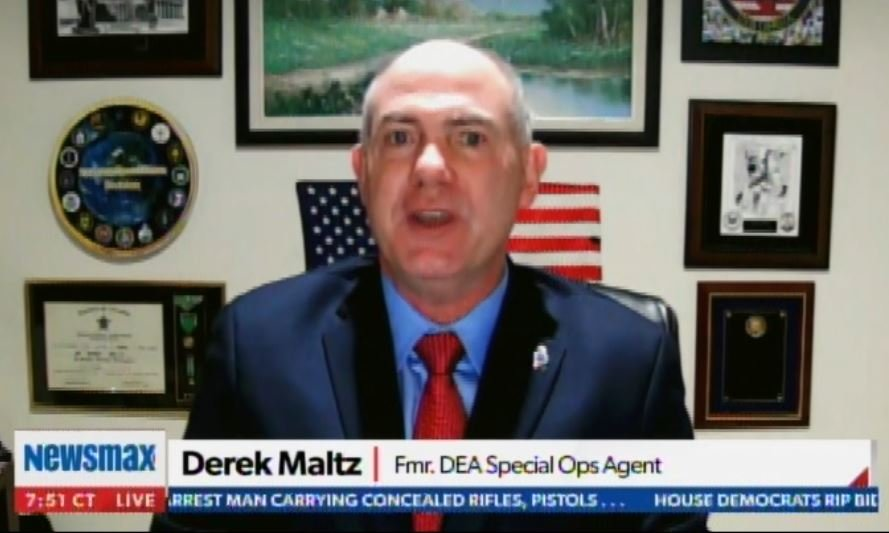 Former DEA Agent Derek Maltz: Fentanyl Seizures Up 361% at US Border – More Seized this Year in 3 months than All of 2020 Combined (VIDEO)