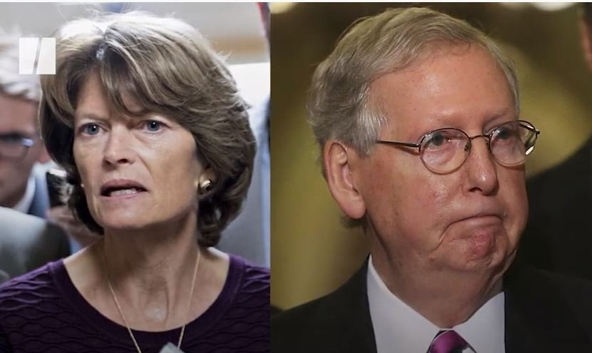 NOW THIS: Mitch McConnell Says He Will Throw His Support Behind Trump-Hating RINO Lisa Murkowski in her Reelection Bid! — He REALLY Hates His Voters