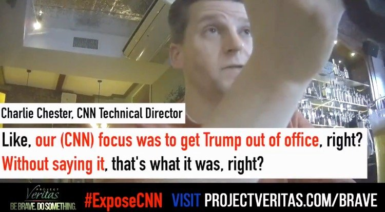 BREAKING: PROJECT VERITAS: CNN Director Admits Network Engaged in 'Propaganda' to Remove Trump From Presidency (VIDEO)