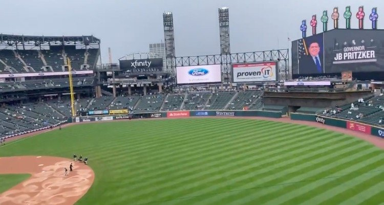 Democrat Illinois Governor Pritzker and Chicago Mayor Lori Lightfoot Receive Loud Boos at White Sox Home Opener (VIDEO)