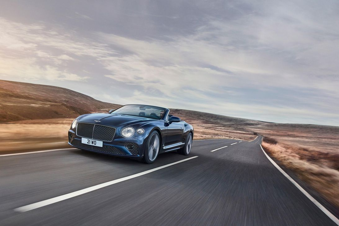 Bentley debuts its 650-hp Continental GT Speed Convertible