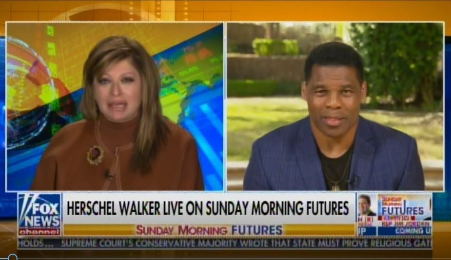 """Stay Tuned It's Going to be Exciting"" – Herschel Walker Teases Senate Run in Georgia (VIDEO)"