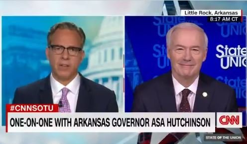 Outgoing Arkansas Governor Asa Hutchinson Slams President Trump on CNN for His Attacks on Worthless Mitch McConnell (VIDEO)