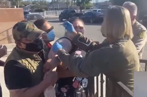 Horror! California Officials Force Crying Mentally Handicapped People to Get COVID Vaccinations (VIDEO)