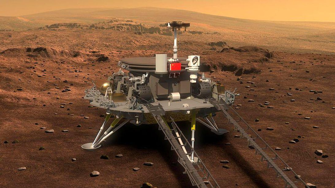 China's Zhurong rover landed on Mars, but we might have to wait awhile for the first photos