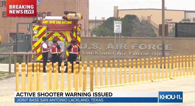DEVELOPING: Active Shooter Reported at Joint Base San Antonio-Lackland