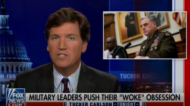 Retired Four Star General Calls For Tucker Carlson to be Fired For Criticizing Gen. Mark Milley