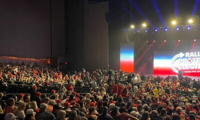 Donald Trump Packs Phoenix Rally, But Look Behind the Scenes at Biden's 'Town Hall' to See Who Can Draw a Bigger Crowd