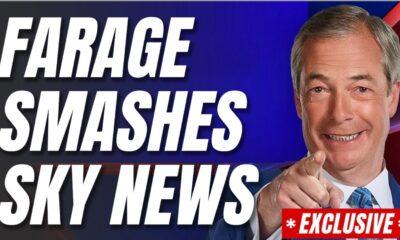 Nigel Farage Is Back with a Bang, Beats Sky News UK