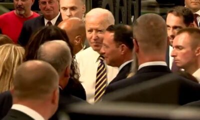 HYPOCRITE: Biden Caught Mingling Maskless With Dozens of People After Forcing All Americans to Wear Masks