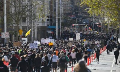 Protestors Against COVID Restrictions Labelled 'Anarchists' by NSW Police Chief