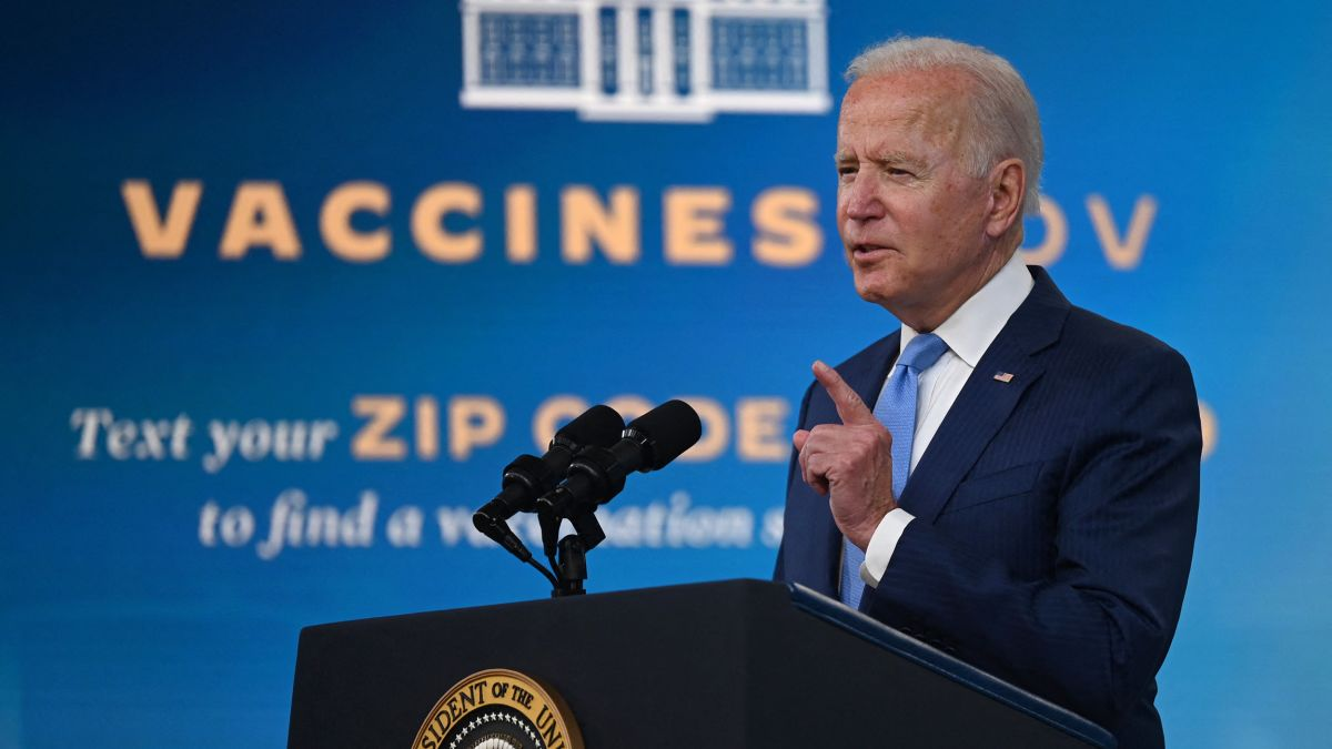 Biden To Call On UN General Assembly To Vaccinate 70% Of The World .